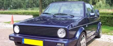 VW Golf I Cabrio 1.8L 8V Turbo